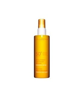 Clarins Spray Solaire Lait-Fluide Sécurité SPF50+ 150 ml