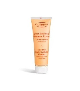 Clarins Doux Nettoyant Gommant Express tutti i tipi di pelle 125 ml