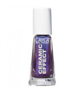 Layla smalto Ceramic Effect 64 Blue Violet