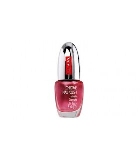 Pupa smalto Chrome 011 chrome cherry pink