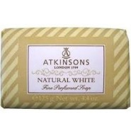 Atkinsons Natural White sapone 125 gr