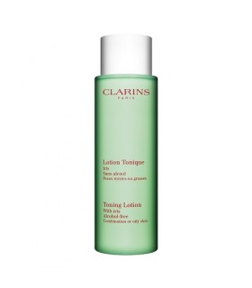 Clarins Lotion Tonique Iris pelli miste e grasse 400 ml