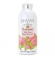 Crabtree & Evelyn Rosewater polvere corpo senza talco 75 g