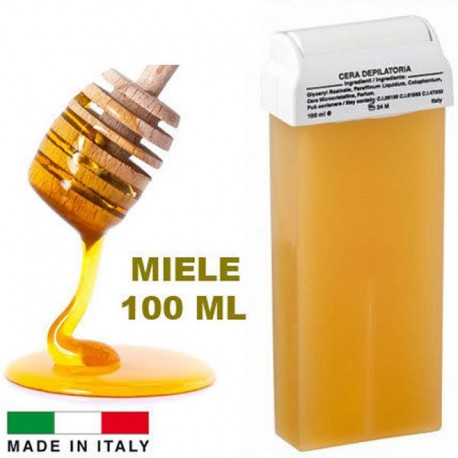 cera depilatoria al miele ricarica rullo 100 ml