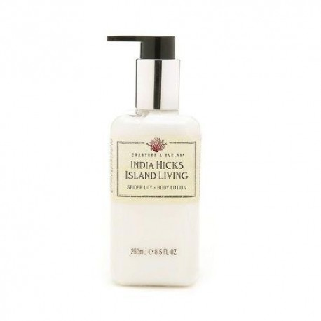 Crabtree & Evelyn India Hicks Island Living latte corpo 250 ml