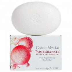 Crabtree & Evelyn Pomegranate argan & grapeseed sapone 140 g