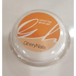 GheryNails Velvet Top Gloss Gel