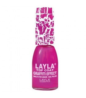 Layla smalto graffiti effect 22 Rosa fluo