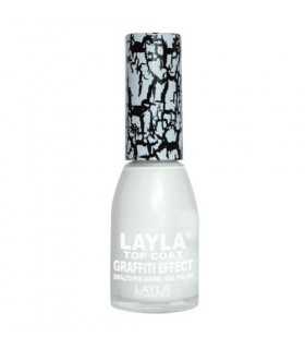 Layla smalto graffiti effect 01 Bianco