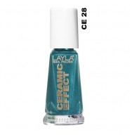 Layla smalto ceramic effect 28 Celebrity Green