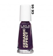 Layla smalto ceramic effect 05 Violet Storm